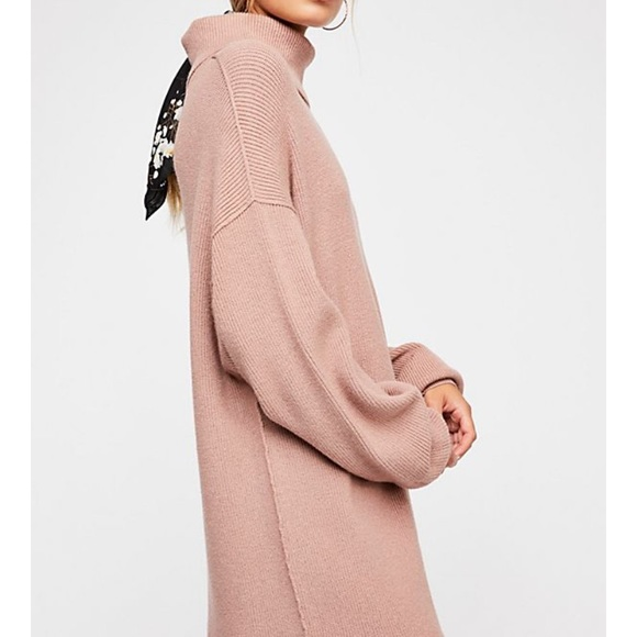 72acc74bd111 Free People Sweaters - Free People XS softly structured tunic mauve